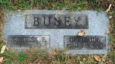 BUSEY, GERTRUDE - Franklin County, Ohio | GERTRUDE BUSEY - Ohio Gravestone Photos