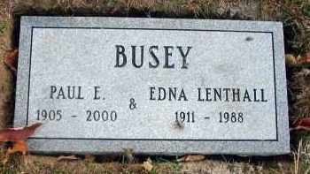 BUSEY, PAUL E. - Franklin County, Ohio | PAUL E. BUSEY - Ohio Gravestone Photos