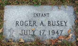 BUSEY, ROGER A. - Franklin County, Ohio | ROGER A. BUSEY - Ohio Gravestone Photos