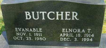 BUTCHER, ELNORA - Franklin County, Ohio | ELNORA BUTCHER - Ohio Gravestone Photos