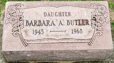 BUTLER, BARBARA A - Franklin County, Ohio | BARBARA A BUTLER - Ohio Gravestone Photos