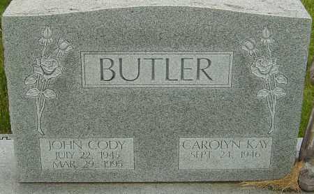 BUTLER, JOHN CODY - Franklin County, Ohio | JOHN CODY BUTLER - Ohio Gravestone Photos