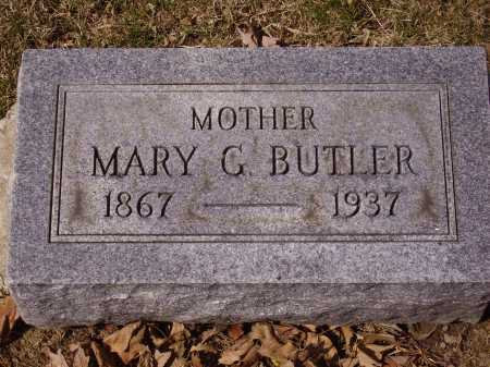 BUTLER, MARY G. - Franklin County, Ohio | MARY G. BUTLER - Ohio Gravestone Photos
