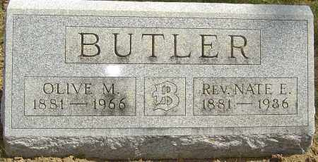 BUTLER, NATE E - Franklin County, Ohio | NATE E BUTLER - Ohio Gravestone Photos