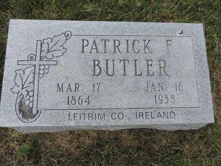 BUTLER, PATRICK F. - Franklin County, Ohio | PATRICK F. BUTLER - Ohio Gravestone Photos