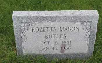 BUTLER, ROZETTA - Franklin County, Ohio | ROZETTA BUTLER - Ohio Gravestone Photos