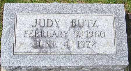 BUTZ, JUDY - Franklin County, Ohio | JUDY BUTZ - Ohio Gravestone Photos