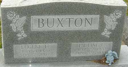 BUXTON, PAULINE L - Franklin County, Ohio | PAULINE L BUXTON - Ohio Gravestone Photos