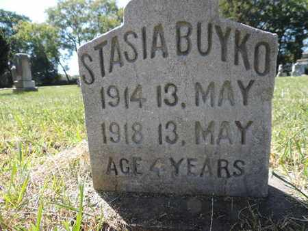 BUYKO, STASIA - Franklin County, Ohio | STASIA BUYKO - Ohio Gravestone Photos
