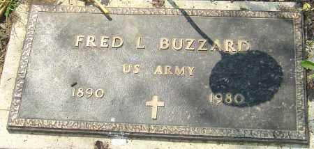 BUZZARD, FRED L - Franklin County, Ohio | FRED L BUZZARD - Ohio Gravestone Photos