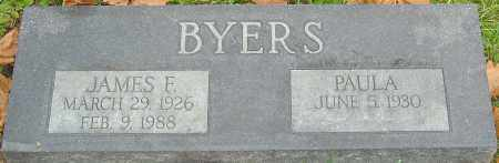 BYERS, JAMES F - Franklin County, Ohio | JAMES F BYERS - Ohio Gravestone Photos