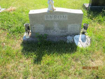 BYROM, WOODROW WILSON - Franklin County, Ohio | WOODROW WILSON BYROM - Ohio Gravestone Photos