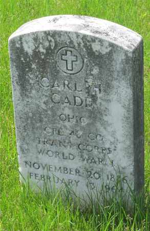 CADE, CARL H. - Franklin County, Ohio | CARL H. CADE - Ohio Gravestone Photos