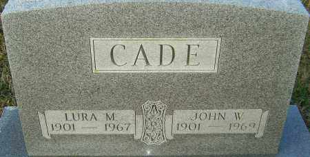 CADE, JOHN - Franklin County, Ohio | JOHN CADE - Ohio Gravestone Photos