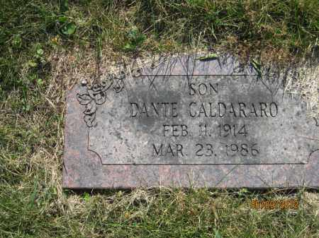CALDARARO, DANTE LUTHER - Franklin County, Ohio | DANTE LUTHER CALDARARO - Ohio Gravestone Photos