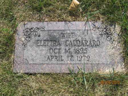 CALDARARO, ELETTRA - Franklin County, Ohio | ELETTRA CALDARARO - Ohio Gravestone Photos