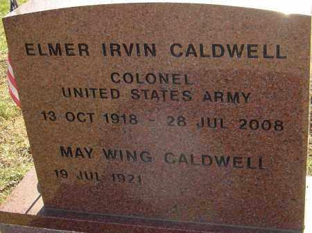 CALDWELL, ELMER IRVIN - Franklin County, Ohio | ELMER IRVIN CALDWELL - Ohio Gravestone Photos