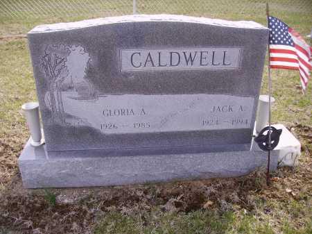 CALDWELL, JACK A. - Franklin County, Ohio | JACK A. CALDWELL - Ohio Gravestone Photos
