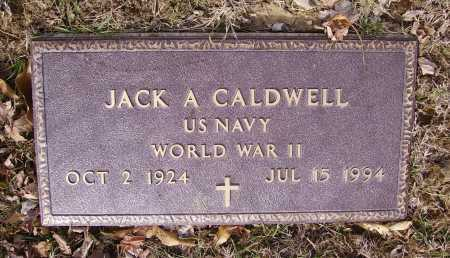 CALDWELL, JACK A. - MILITARY - Franklin County, Ohio | JACK A. - MILITARY CALDWELL - Ohio Gravestone Photos