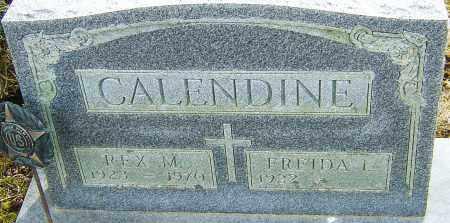 CALENDINE, REX M - Franklin County, Ohio | REX M CALENDINE - Ohio Gravestone Photos
