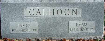 CALHOON, EMMA - Franklin County, Ohio | EMMA CALHOON - Ohio Gravestone Photos