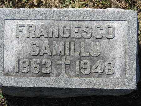 CAMILLO, FRANCESCO - Franklin County, Ohio | FRANCESCO CAMILLO - Ohio Gravestone Photos