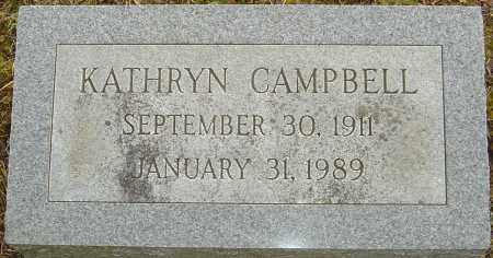 SWEARINGEN CAMPBELL, KATHRYN - Franklin County, Ohio | KATHRYN SWEARINGEN CAMPBELL - Ohio Gravestone Photos