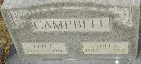 CAMPBELL, LEO EARL - Franklin County, Ohio | LEO EARL CAMPBELL - Ohio Gravestone Photos