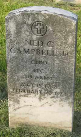 CAMPBELL, NED C - Franklin County, Ohio | NED C CAMPBELL - Ohio Gravestone Photos