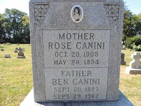 CANINI, ROSE - Franklin County, Ohio | ROSE CANINI - Ohio Gravestone Photos