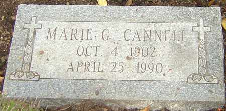 CANNELL, MARIE - Franklin County, Ohio | MARIE CANNELL - Ohio Gravestone Photos