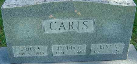 CARIS, JEPTHA C - Franklin County, Ohio | JEPTHA C CARIS - Ohio Gravestone Photos