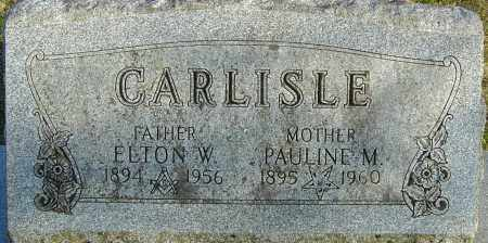 CARLISLE, ELTON W - Franklin County, Ohio | ELTON W CARLISLE - Ohio Gravestone Photos