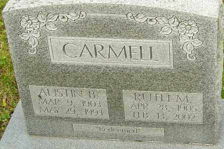CARMELL, RUTH - Franklin County, Ohio | RUTH CARMELL - Ohio Gravestone Photos