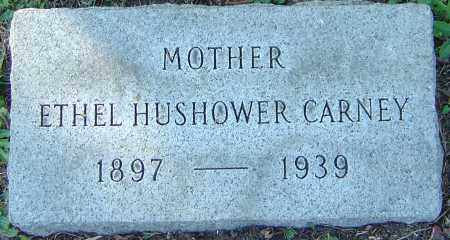 TULLER CARNEY, ETHEL HUSHOWER - Franklin County, Ohio | ETHEL HUSHOWER TULLER CARNEY - Ohio Gravestone Photos