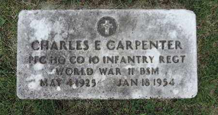 CARPENTER, CHARLES E. - Franklin County, Ohio | CHARLES E. CARPENTER - Ohio Gravestone Photos