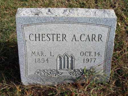 CARR, CHESTER A. - Franklin County, Ohio | CHESTER A. CARR - Ohio Gravestone Photos