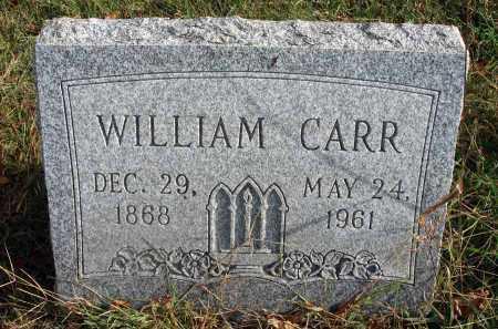 CARR, WILLIAM - Franklin County, Ohio | WILLIAM CARR - Ohio Gravestone Photos