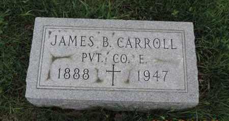 CARROLL, JAMES B. - Franklin County, Ohio | JAMES B. CARROLL - Ohio Gravestone Photos