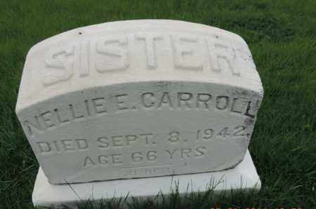 CARROLL, NELLIE E - Franklin County, Ohio | NELLIE E CARROLL - Ohio Gravestone Photos