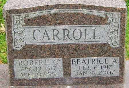 CARROLL, BEATRICE A - Franklin County, Ohio | BEATRICE A CARROLL - Ohio Gravestone Photos