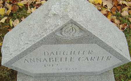 CARTER, ANNABELLE - Franklin County, Ohio | ANNABELLE CARTER - Ohio Gravestone Photos