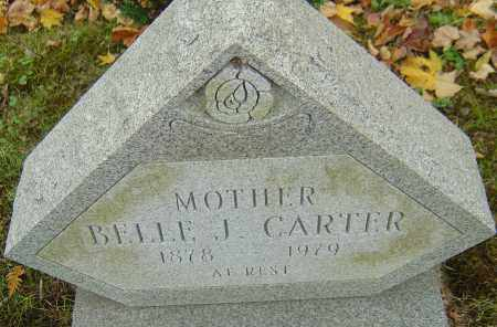 JONES CARTER, BELLE - Franklin County, Ohio | BELLE JONES CARTER - Ohio Gravestone Photos