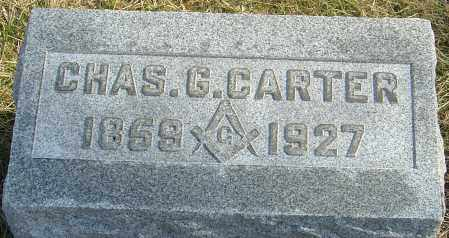 CARTER, CHAS G - Franklin County, Ohio | CHAS G CARTER - Ohio Gravestone Photos