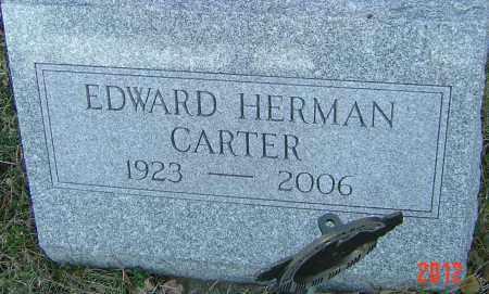 CARTER, EDWARD HERMAN - Franklin County, Ohio   EDWARD HERMAN CARTER - Ohio Gravestone Photos