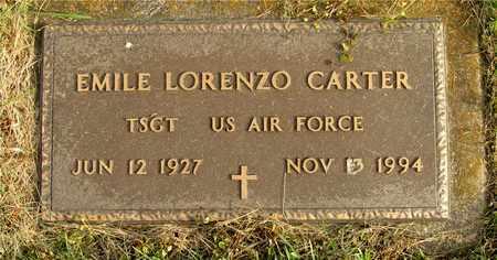 CARTER, EMILE LORENZO - Franklin County, Ohio | EMILE LORENZO CARTER - Ohio Gravestone Photos