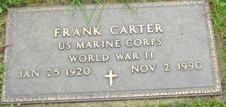 CARTER, FRANK - Franklin County, Ohio | FRANK CARTER - Ohio Gravestone Photos