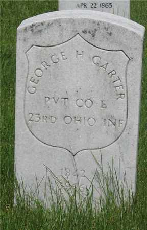 CARTER, GEORGE H. - Franklin County, Ohio | GEORGE H. CARTER - Ohio Gravestone Photos