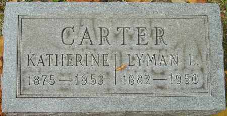 CARTER, KATHERINE - Franklin County, Ohio | KATHERINE CARTER - Ohio Gravestone Photos