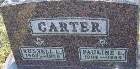 CARTER, RUSSELL L - Franklin County, Ohio | RUSSELL L CARTER - Ohio Gravestone Photos